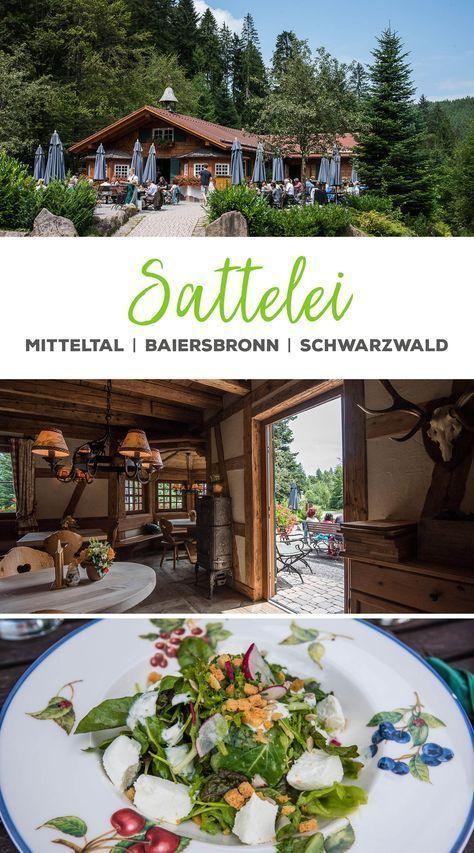 Die schönste Wanderhütte im Schwarzwald. Willkommen im Sattel … – Wald …   – Reise