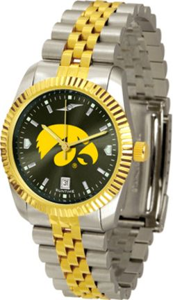 Iowa Hawkeyes Executive AnoChrome Men's Watch