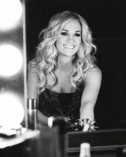 Carrie Underwood...so beautiful, and with an amazing voice too! ;)
