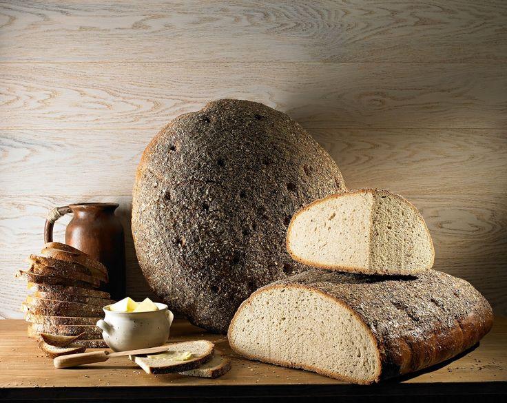 Chleb prądnicki, tradycyjny ciemny chleb, wypiekany na zakwasie żytnim - regional product