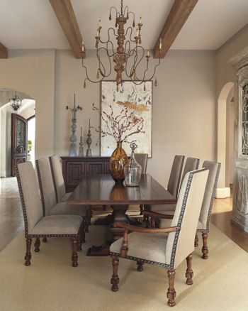 73 best Delightful Dining Rooms images on Pinterest | Dining rooms ...