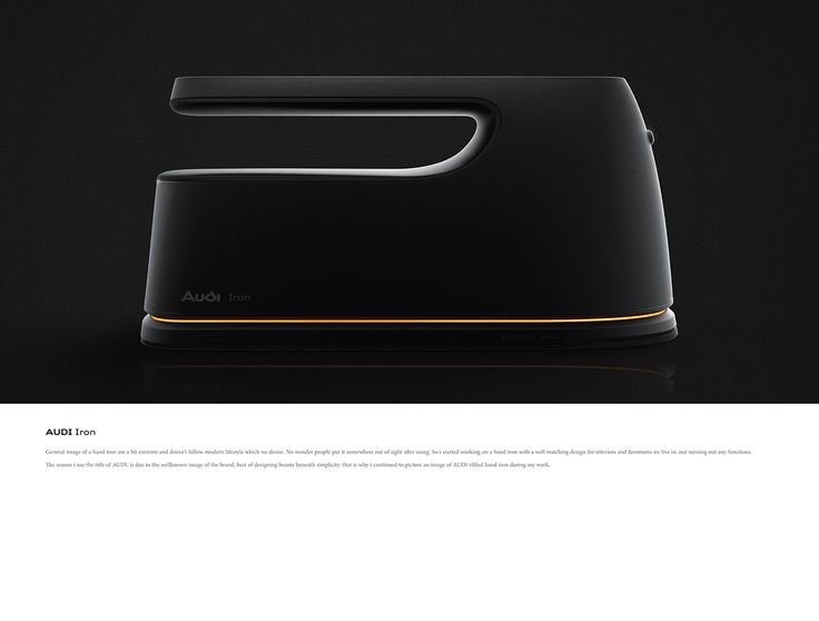 Audi iron concept design on Behance