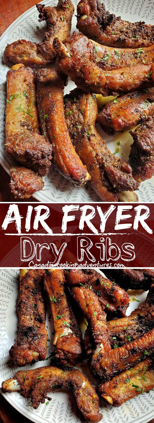 Air Fryer Pork Ribs Air Fryer Recipes Easy Air Fryer Dinner Recipes Air Fryer Recipes Healthy