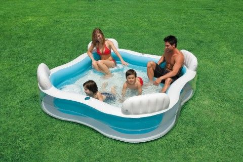 Amazon.com: Intex Swim Center Family Lounge Pool: Toys & Games