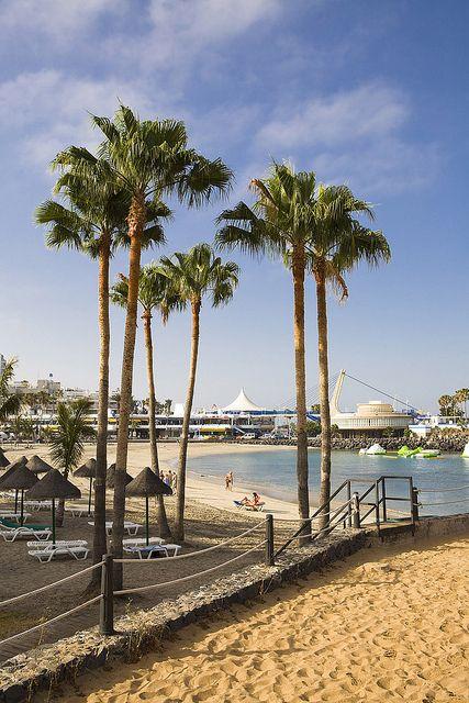 Playa de Puerto Colón Adeje Tenerife Sur