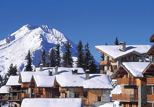 La Rosiere ski holiday  Chalets Papillon, France
