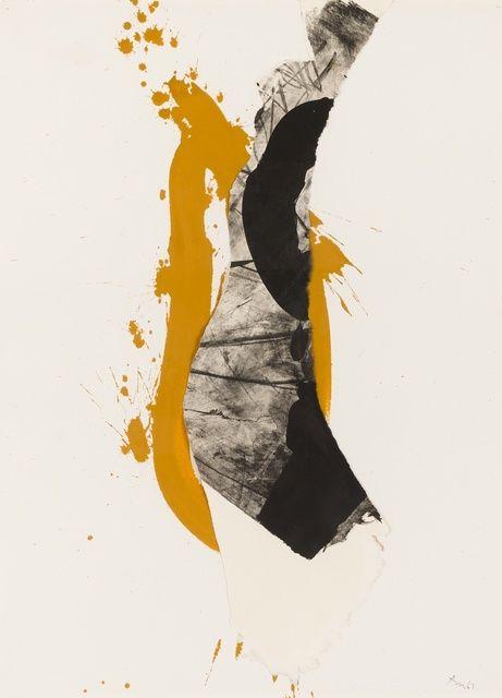 Robert Motherwell, 'First Love,' 1967, Paul Kasmin Gallery                                                                                                                                                                                 More