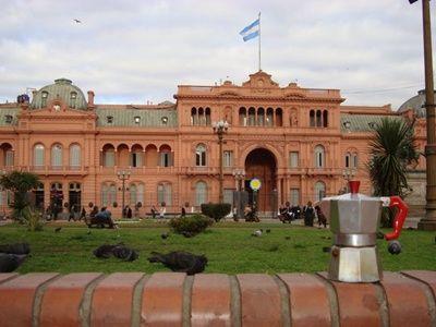 Moka alla Casa Rosada