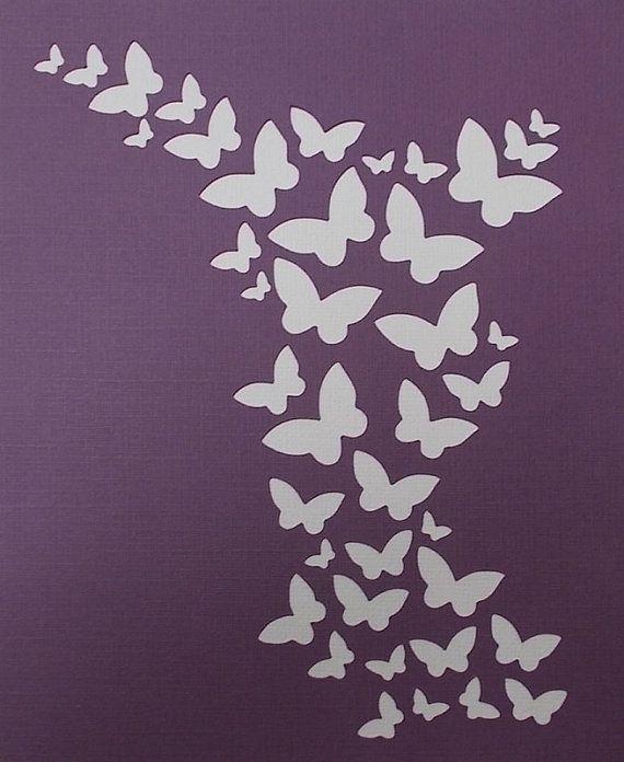 Plantilla de fondo de mariposa                                                                                                                                                                                 Más