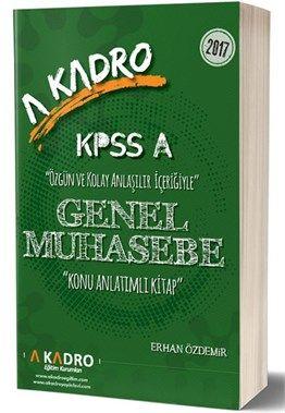 2017 KPSS A Grubu Muhasebe Konu Anlatımlı A Kadro Yayınları