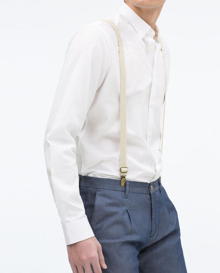 TROUSERS WITH SUSPENDERS-Casual-Trousers-MAN-SALE | ZARA United States