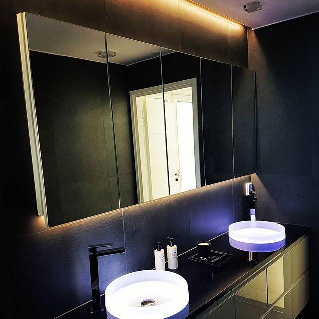 This is bathroom lighting done properly.  #thisiswhatwedo #led #leds #ledlights #ledlight #ledlighting #lighting #lightingdesign #lightingdesigner #decor #decoration #decorations #bathroom #winled #sisustus #valaistus #ledvalot #ledvalaisimet #valaistussuunnittelu #valo #home #lighteffects #lighteffect #homedesign #homesweethome #homedecor #homedecoration #asuntomessut2016 #asuntomessut