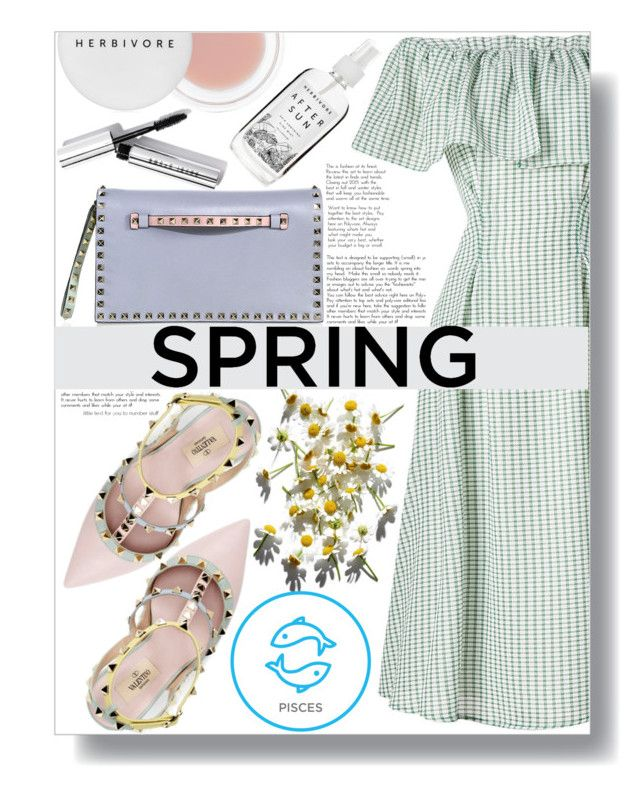 """March Horoscope: Spring Dresses"" by sc-styles on Polyvore featuring Rejina Pyo, Valentino, Herbivore and Bobbi Brown Cosmetics"