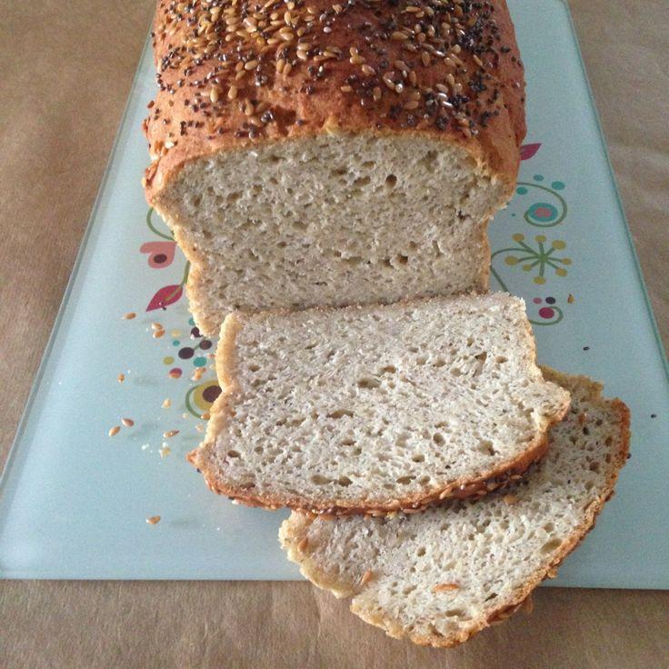 Pão de sementes e batata doce sem glúten e sem lactose