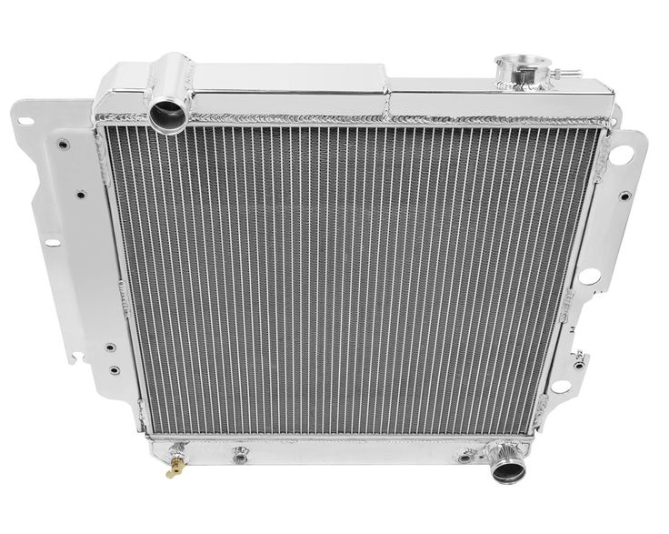 Champion Three Row Aluminum Radiator for 1987-2004 Jeep Wrangler YJ with Chevy Conversion CC8101