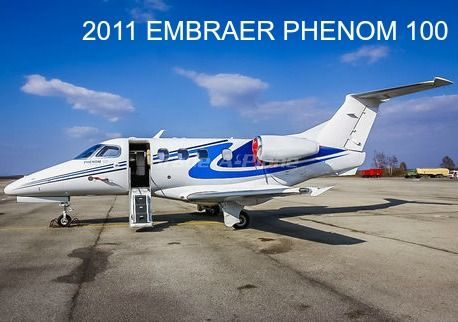 #FeaturedListing 2011 EMBRAER PHENOM 100 available at trade-a-plane.com.