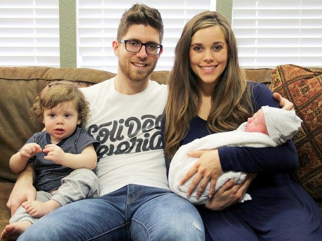 """I think it's really awesome that we have two little boys so close together in age,"" Jessa said in a TLC video introducing their newborn"