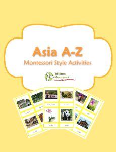 Asia A-Z by Trillium Montessori