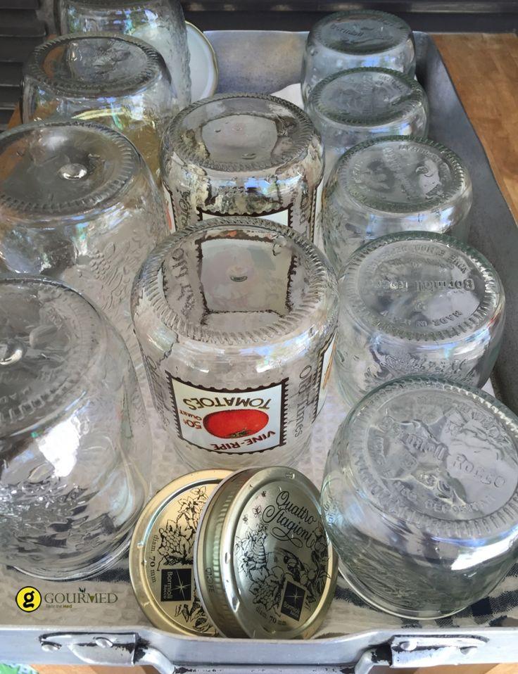 Πως αποστειρώνουμε τα βάζα - gourmed.gr