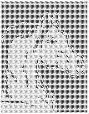 ARABIAN HORSE CROCHET AFGHAN PATTERN COPYRIGHT TINA GIBBONS