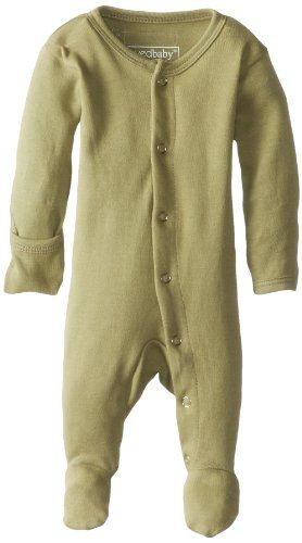 L'ovedbaby Unisex-Baby Organic Cotton Footed Overall, Sag...