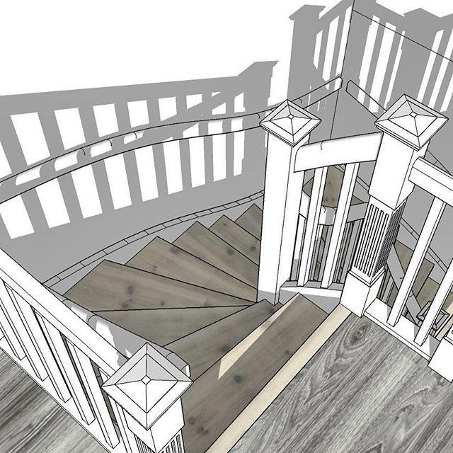 #trapp #trappan #rekkverk  #snekkertrapp  #schodybiałe #schody