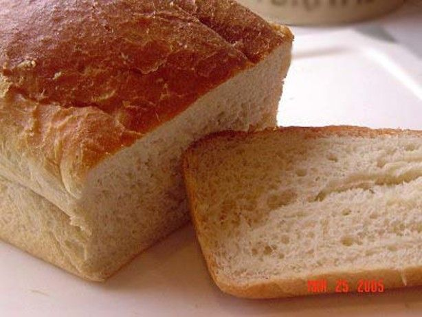 best white bread machine recipe