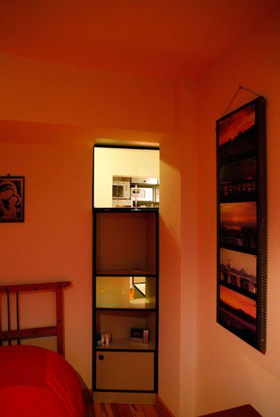 Meydan Architecture Design | Kasımpaşa Studio, Two sided Cupboard