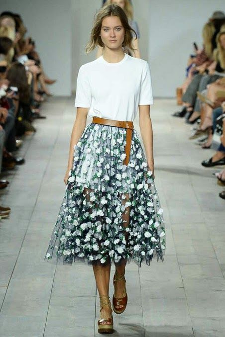 13 seconds of imagination: Michael Kors Spring 2015 RTW
