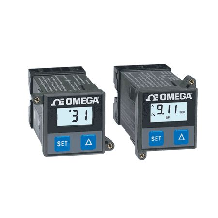 1/16 DIN On-Off LCD Temperature Controllers with Dual Outputs.  Models: CN1A-TC, CN1A-RTD
