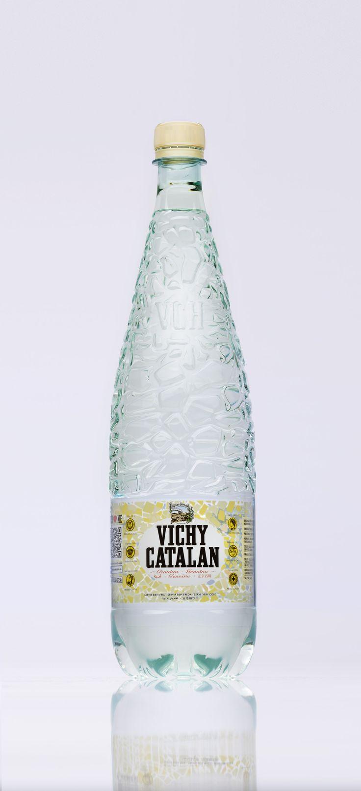 Nuevo envase para el Vichy Catalán de siempre. Nuevo Vichy Catalán 1,2l en PET, más resistente y duradera que nunca.
