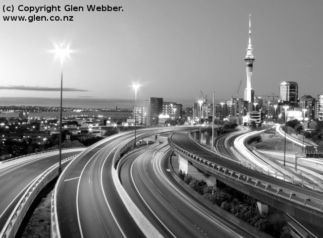 We love Auckland - this is a stunning photo showing our beautiful city from a slightly different angle