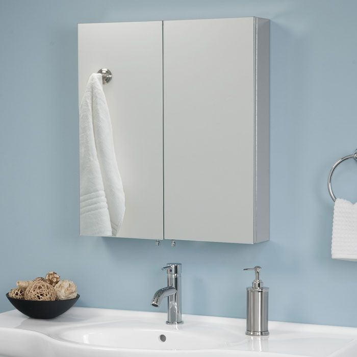 Luxury Stainless Steel Medicine Cabinets Surface Mount