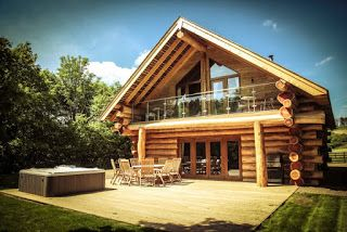 Log Cabins With Hot Tubs Lake District- Feel At Home: Log Cabins For Autumnal Holidays in the UK