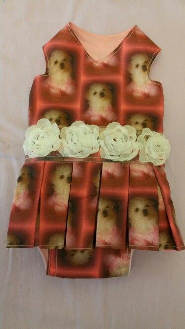 New dress with Maltese puppy on it for sale in Pixies Posh Pets or email us at Pixiesposhpets@yahoo.co.uk