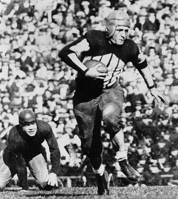 "Red Grange - ""The Galloping Ghost"" - Chicago Bears - RB"