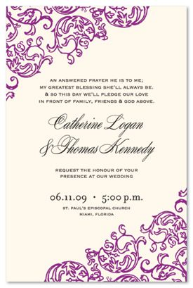 Informal Wedding Invitation Wording | Casual and Modern Ways to Word Wedding Invitations
