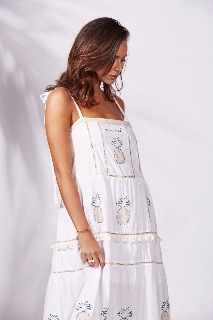 Binny - Pina Colada Maxi Dress