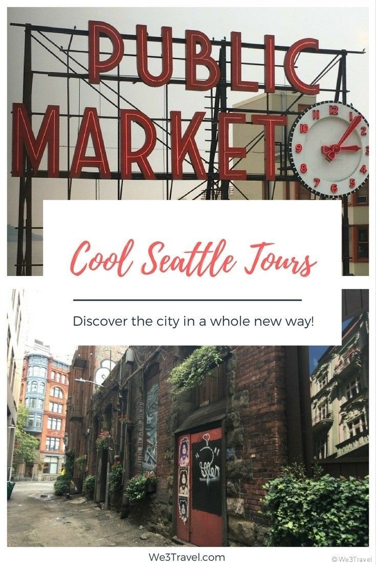 2 Cool Seattle Tours to try on