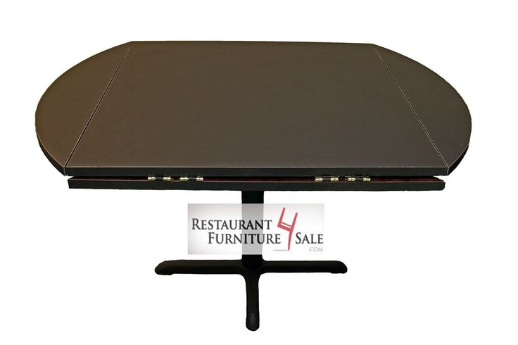 Drop leaf laminated restaurant table top expands from 42 for Table cuisine 60 x 80