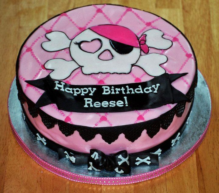 Pirate Girl Birthday Cake Pirate Theme Birthday Party