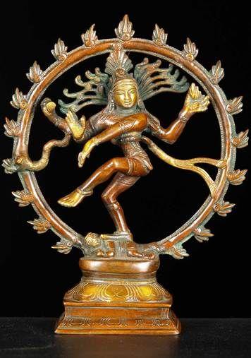 "Statue - Nataraja - 11"""" Brass"