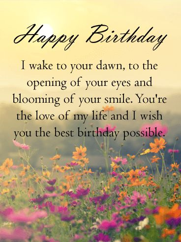 9 best Birthday Wishes Card for Her images on Pinterest Happy - best wishes in life