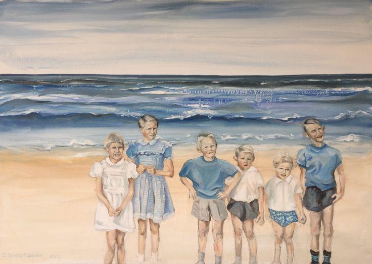 Vlieland, olieverf op doek, 50 x 70 cm, Esther Eggink