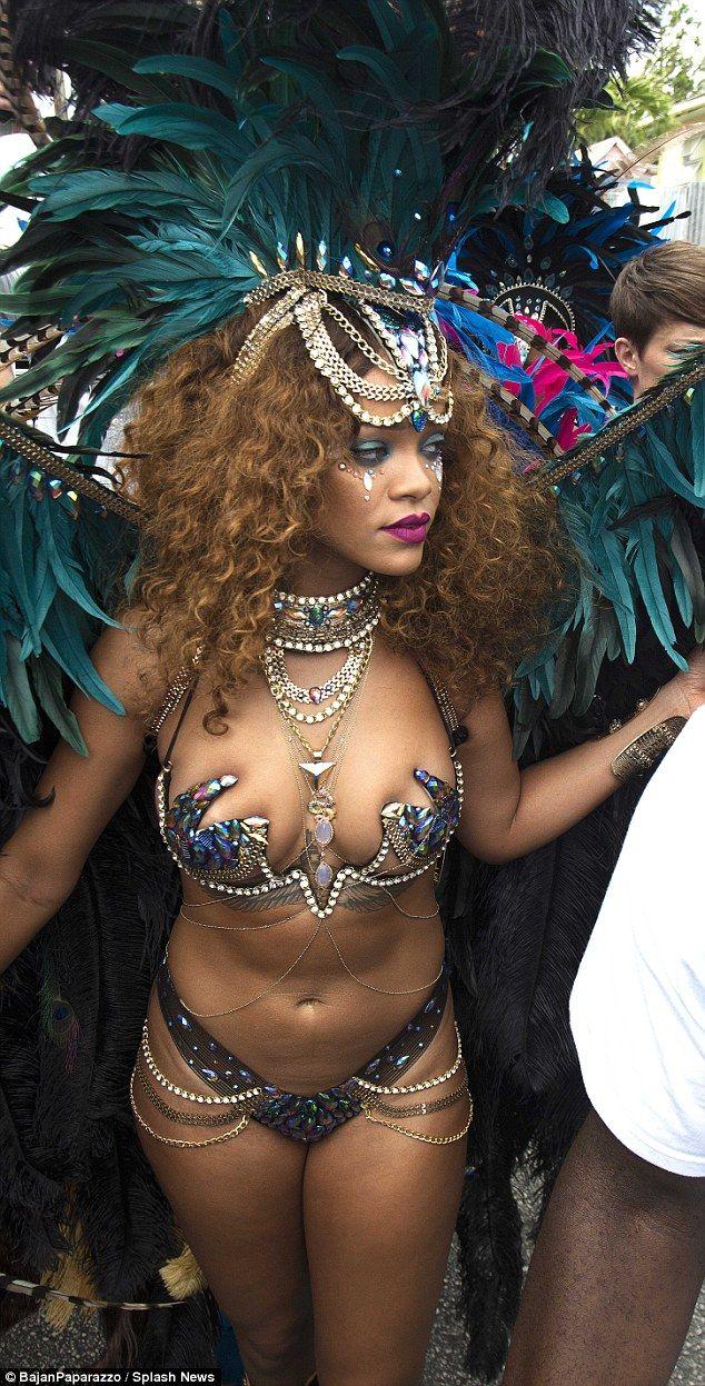 Rihanna Parade Costume
