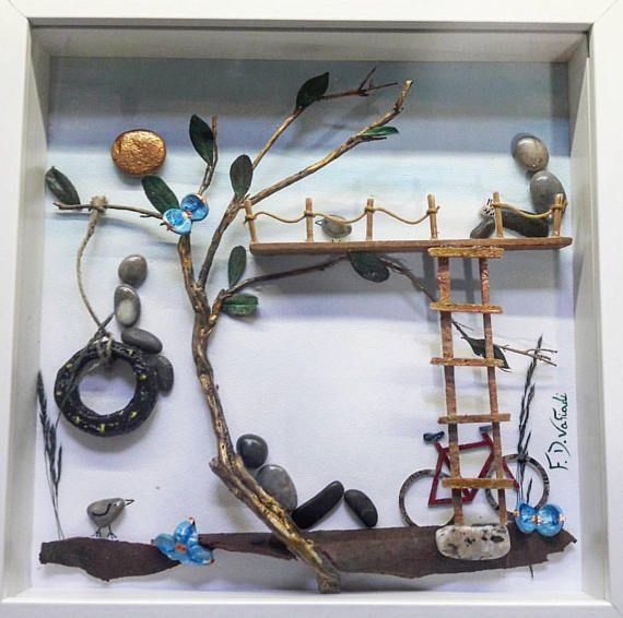 https://www.etsy.com/listing/566612513/pebble-art-kids-gift-kids-room-decor  #fdvafiadi #driftwoodfdvafiadi