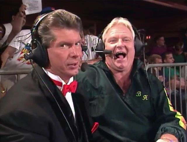 "Vince McMahon and Bobby ""the Brain"" Heenan - RAW"