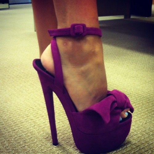 purple suede giuseppe zanottis #shoeporn