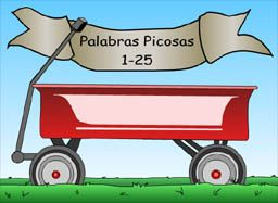 Palabras Picosas 1-25, High Freq words listening