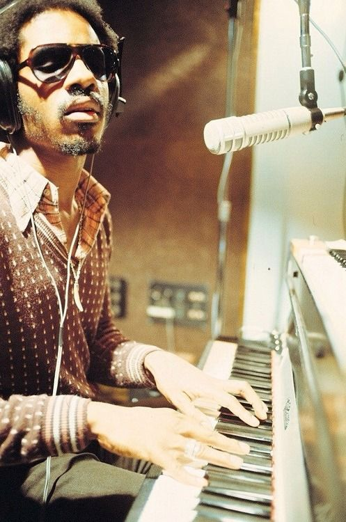 Stevie Wonder - I can't dare to point out just a few of my favorite songs from him! I love them all!